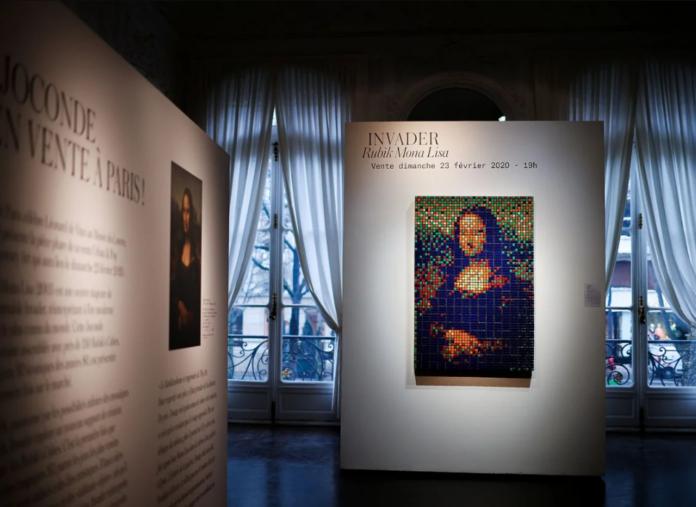 Мона Ліза вуличного художника продана на аукціоні в Парижі за $520 тис.
