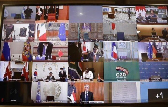 Лідери G20 ухвалили заяву щодо боротьби з коронавірусом