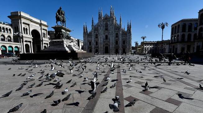 В Італії за добу від коронавірусу померли 627 осіб, загальна кількість загиблих перевищила 4000