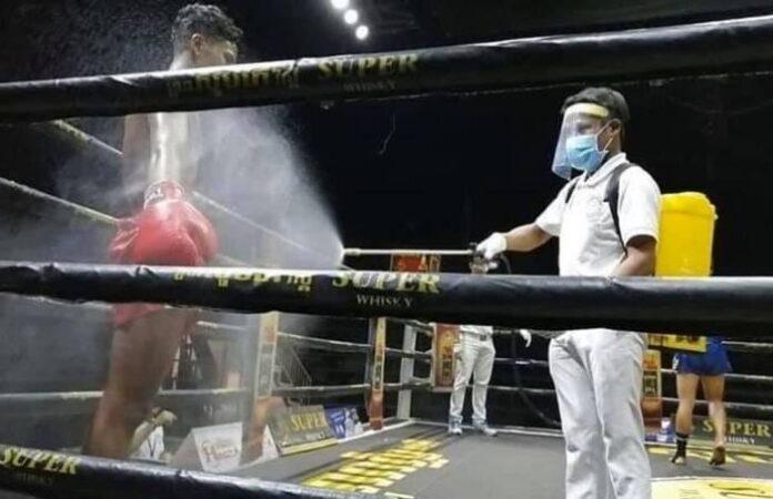 В Нікарагуа відбувся вечір боксу з особливими обмеженнями через коронавірус