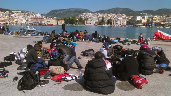 Число мігрантів, які проживають на Егейських островах, значно скоротилося