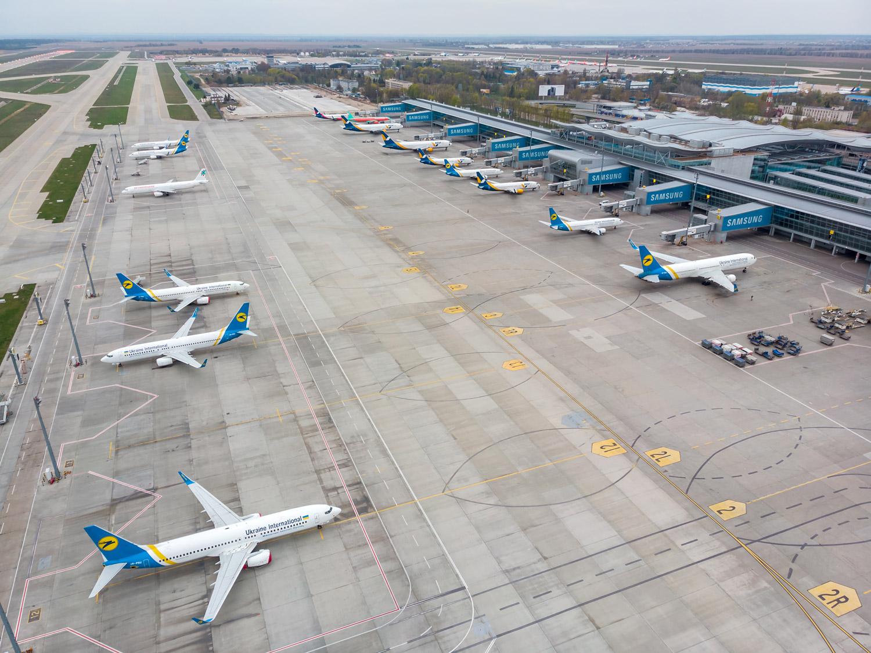 аеропорты закрываются літак самолет