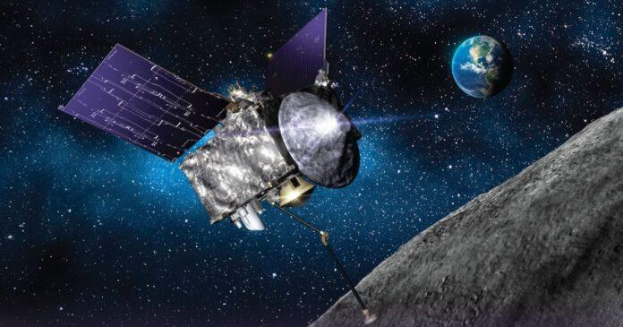 Зонд NASA торкнувся астероїда і зібрав зразки його грунту