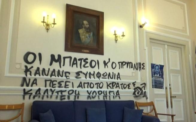 Ректор Афінського національного технічного університету засудив те, що він назвав терпимістю держави до беззаконня в грецьких університетах в останні десятиліття